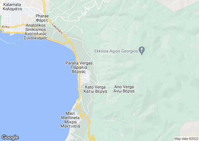 Map for , Messinia, Greece