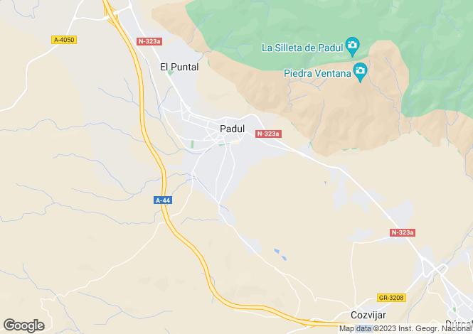Map for Padul, Granada, Spain