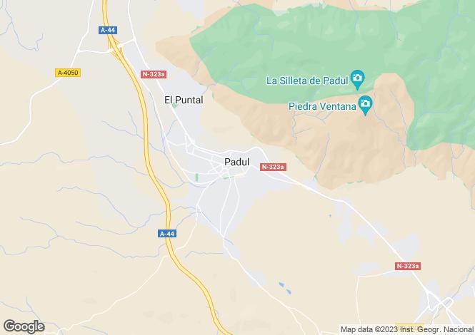 Map for Andalucia, Granada, Padul
