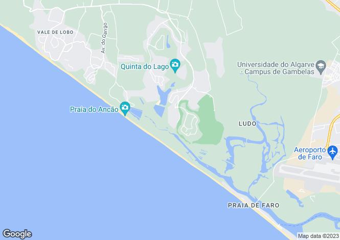Map for Grand Private Villa, Quinta Do Lago, Faro