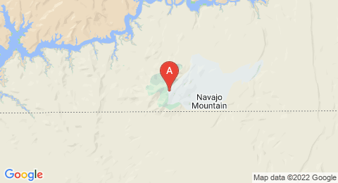 map of Navajo Mountain (United States of America)