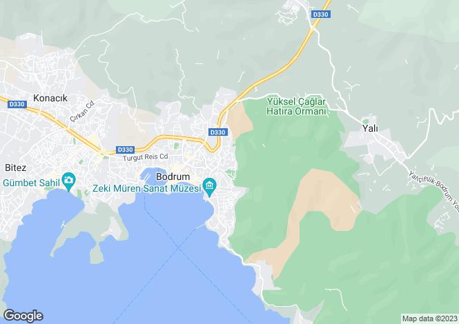 Map for Bodrum, Bodrum, Mugla
