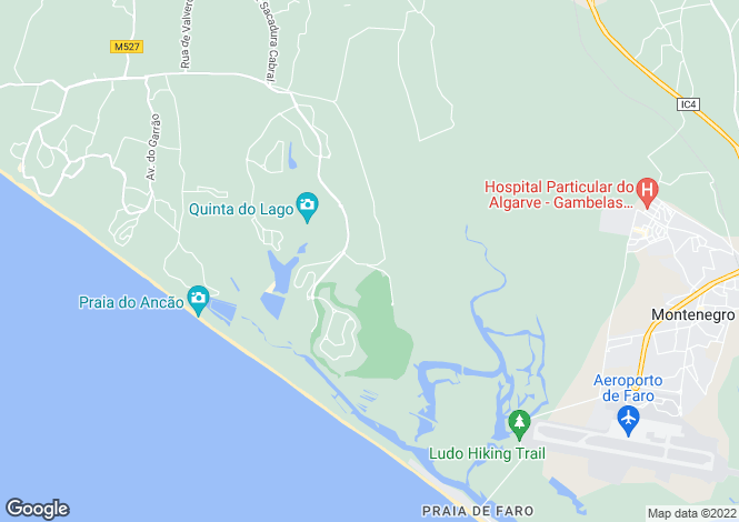 Map for Quinta Do Lago, Algarve