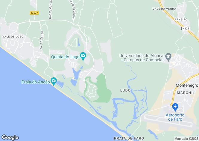 Map for Monte Da Quinta, Algarve