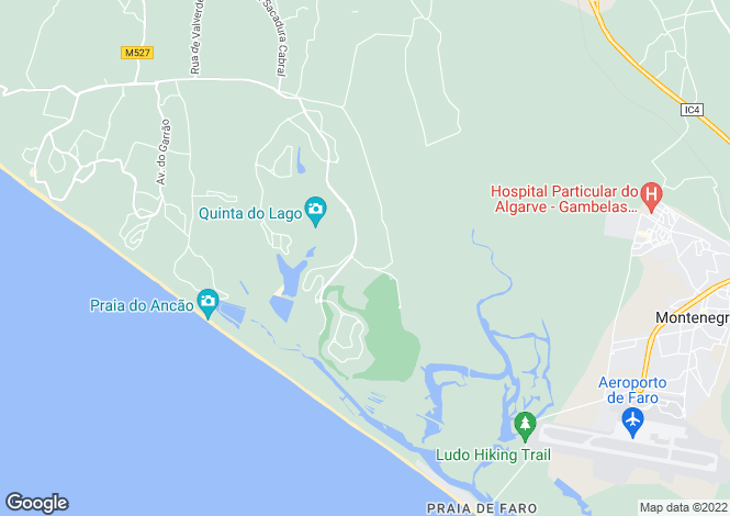 Map for Algarve, Monte Da Quinta