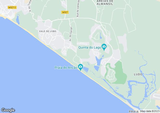 Map for Algarve, Quinta Do Mar