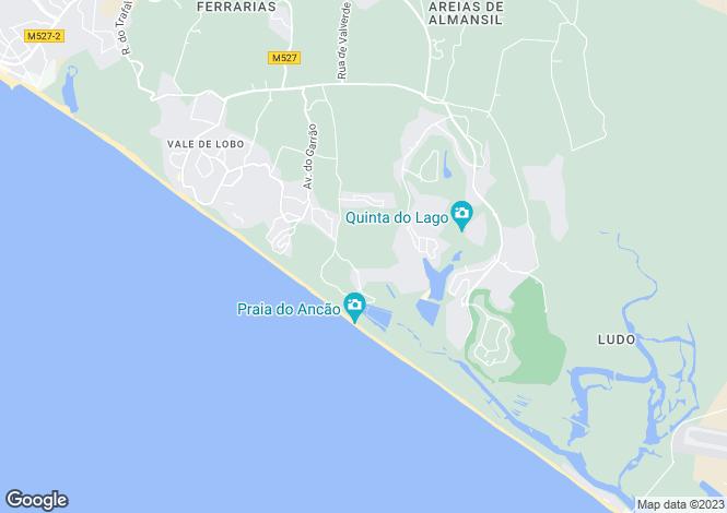 Map for Apartment In Premier Condominium, Quinta Do Mar, Quinta Do Lago