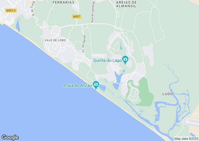 Map for Quinta Do Mar, Algarve