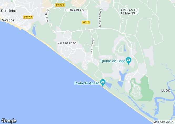 Map for Dunas Douradas, Central Algarve, Portugal
