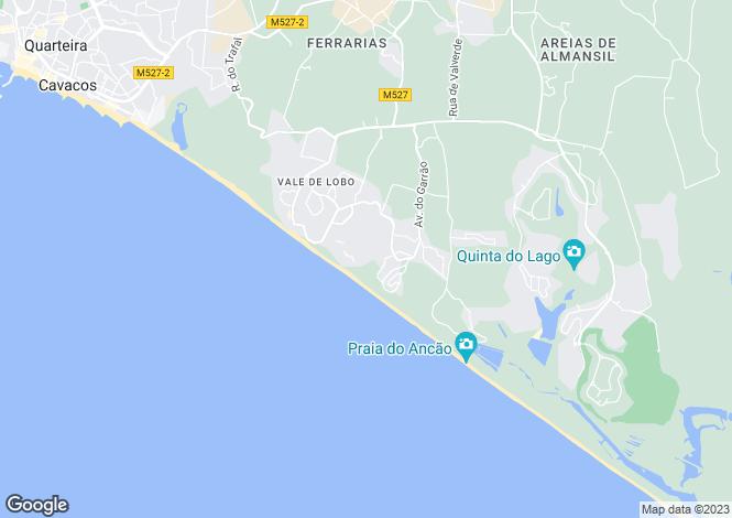 Map for Dunas Douradas, Algarve