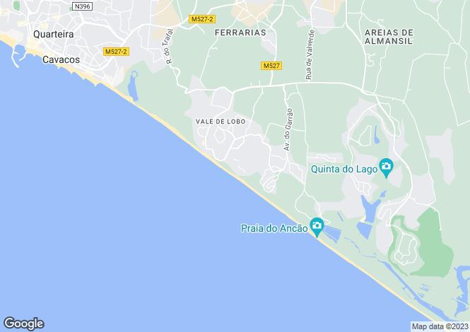 Map for Near Quinta do Lago, Algarve, Portugal
