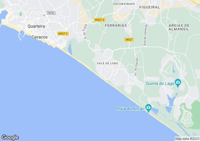 Map for Vale do Lobo, Algarve