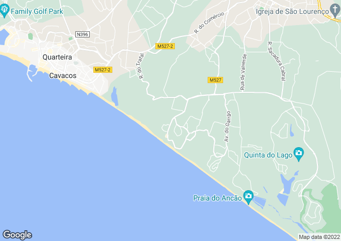 Map for Vale do Lobo,Portugal