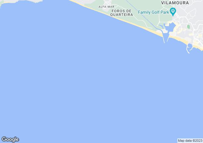 Map for Albufeira Antiga, Algarve