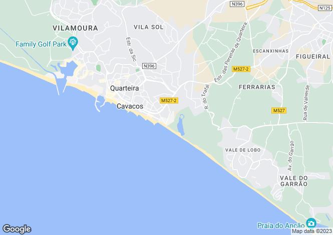 Map for Loule , Quarteira