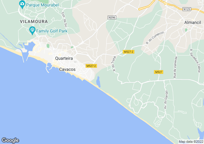 Map for Other Central Algarve, Faro District, Portugal