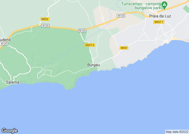 Map for Burgau