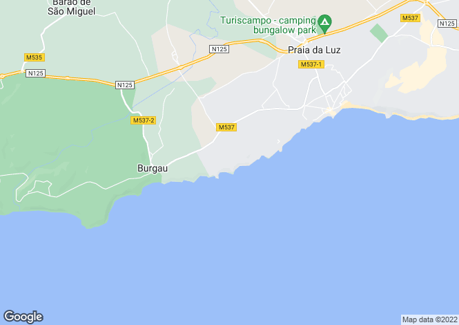 Map for Townhouse in Prime Location, Porto D. Maria, Praia da Luz