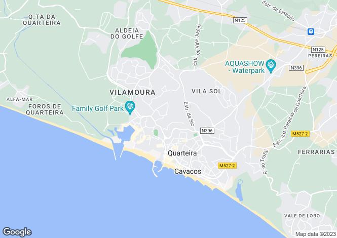 Map for Vilamoura,  Algarve