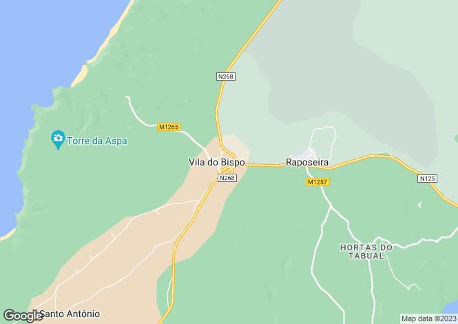 Map for Vila do Bispo, Portugal