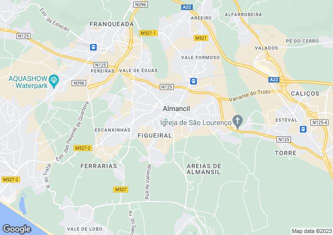 Map for Other Central Algarve, Algarve, Portugal