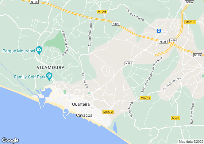 Map for Vila Sol,  Algarve