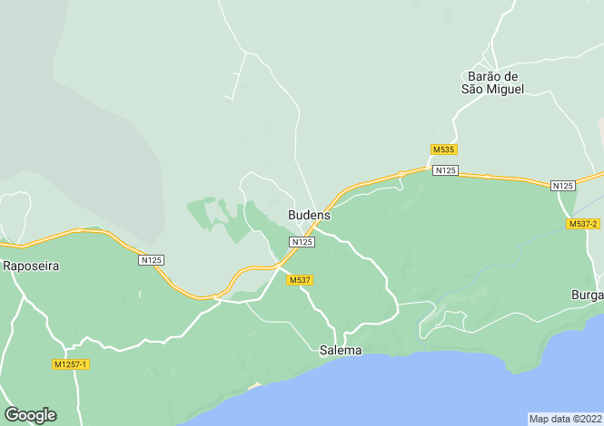 Map for Algarve, Vila do Bispo