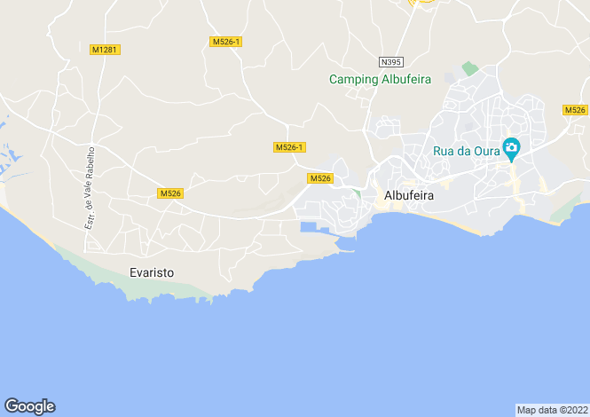 Map for Marina De Albufeira, Algarve