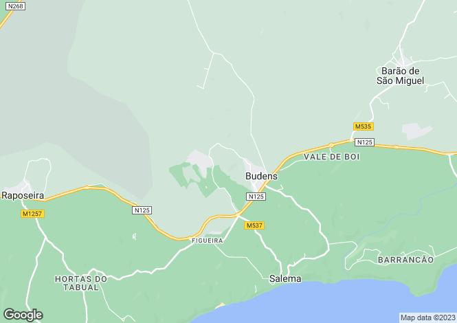 Map for Portugal - Algarve, Vila do Bispo