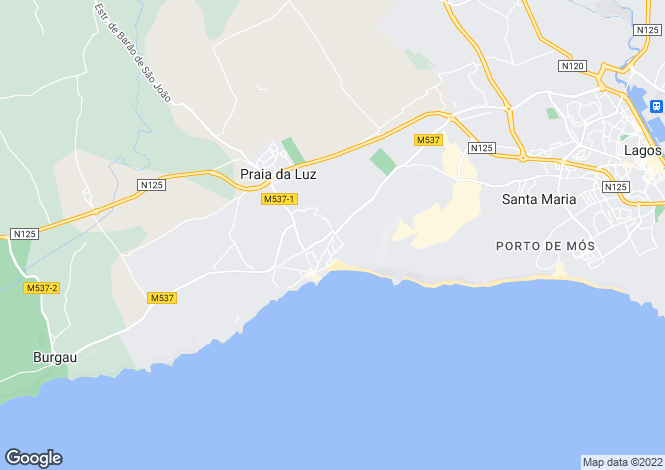 Map for Good-sized shop located in Praia da Luz