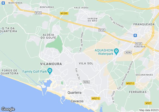 Map for Algarve, Vilasol