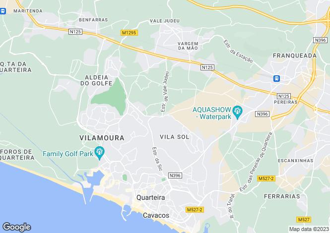 Map for Vilasol, Algarve