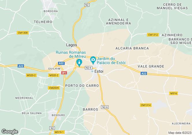 Map for Conceição e Estoi, Faro, Faro