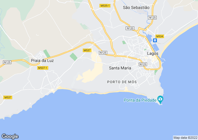 Map for Golf - Boavista Golf, Algarve, Portugal
