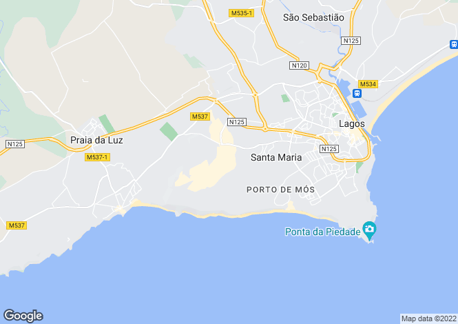 Map for Luxury Detached Villa, Boa Vista Golf Resort, Algarve