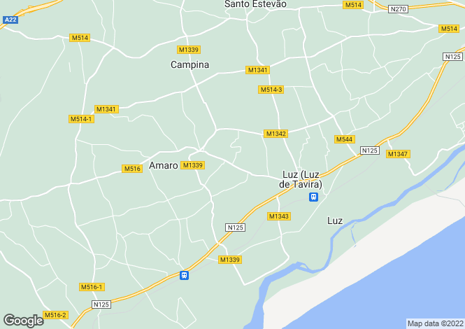 Map for Luz De Tavira, Algarve