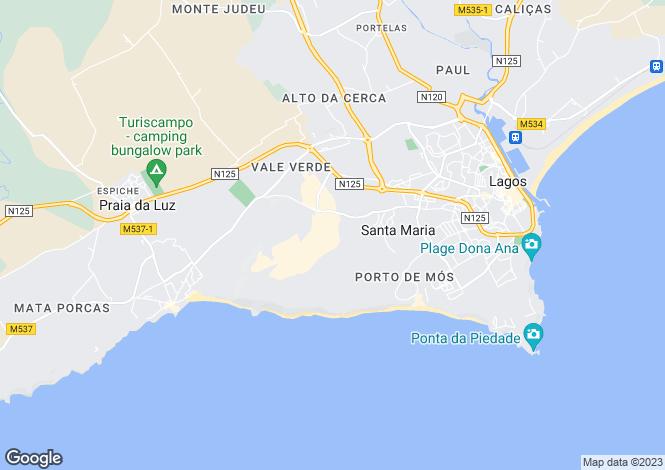 Map for Imaculate Apartment, Boavista Golf, Algarve