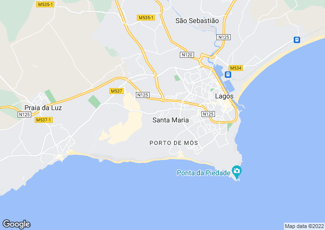 Map for Lagos