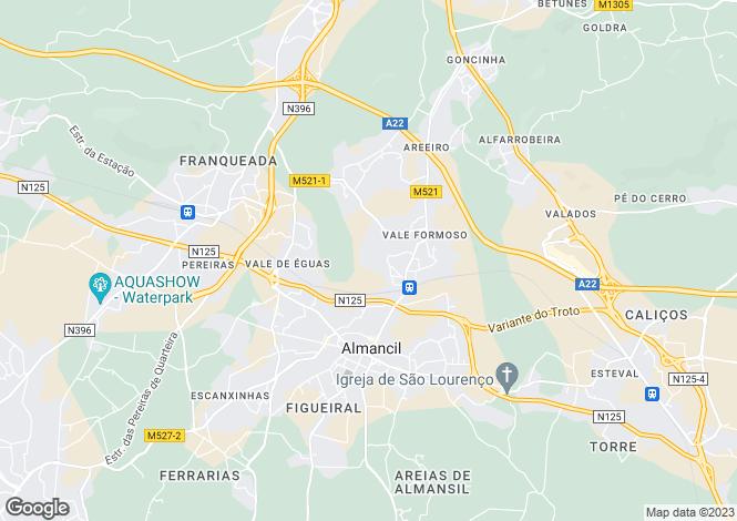 Map for Vale Formoso, Algarve