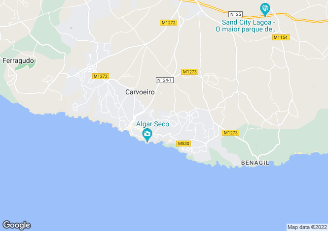 Map for , CARVOEIRO
