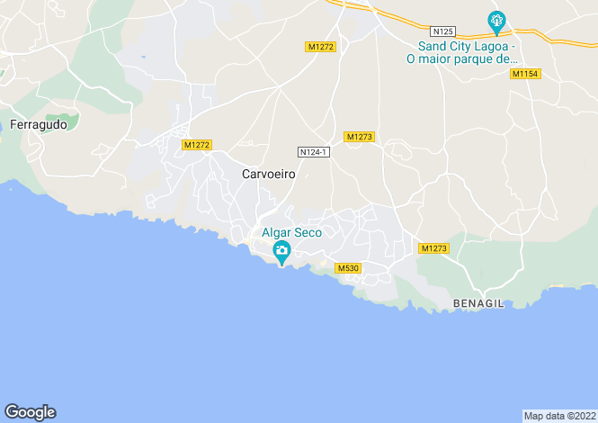 Map for Portugal