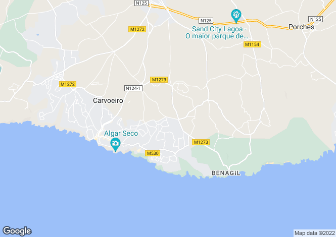 Map for 4 Bedroom villa on a large plot with sea views