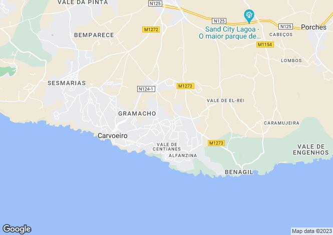 Map for Carvoeiro, Algarve, 8400-552, Portugal