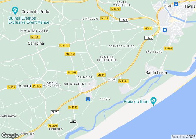 Map for Tavira, Algarve, 8800-107, Portugal