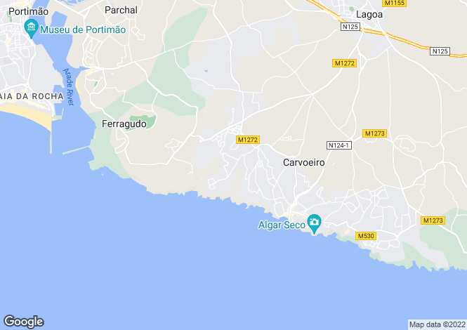 Map for 4 bed single level villa on Carvoeiro Club