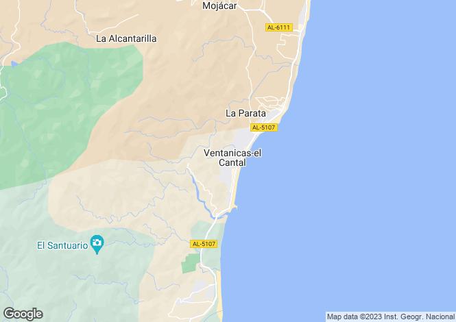 Map for Mojacar Playa, Spain