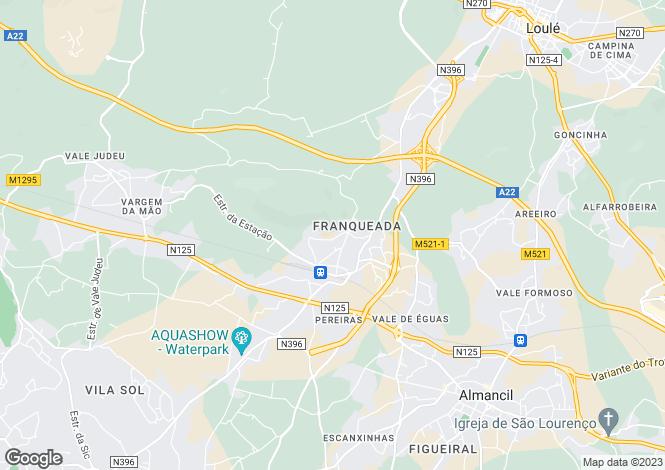 Map for Loulé (São Sebastião), Loulé, Faro