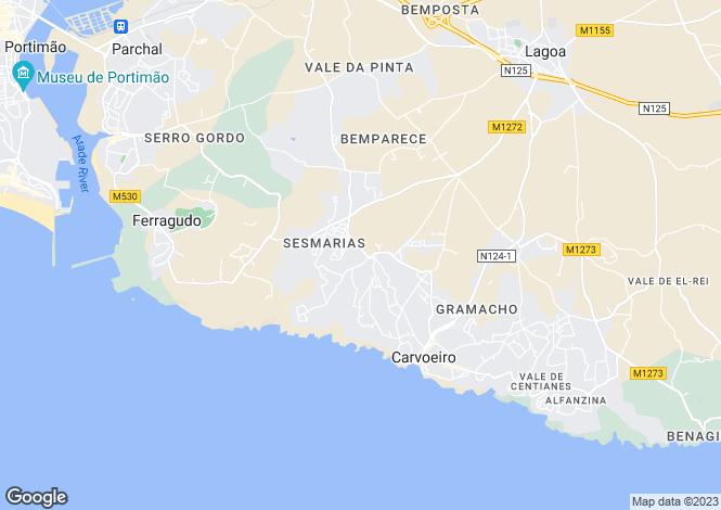 Map for Unique 3 Bed Villa, close to Carvoeiro