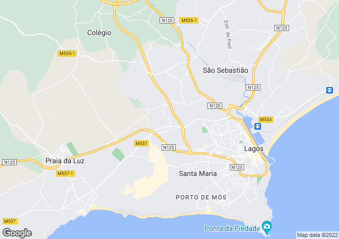 Map for Villa In Prestigious Location, Herdade Do Funchal, Lagos