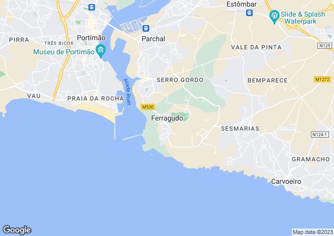 Map for Lagoa, Portugal